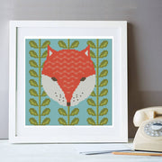 Mr Fox Cross Stitch Kit