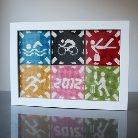Olympic 2012 Commemorative Tapestry Cross Stitch Kit