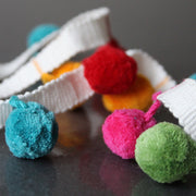 Cotton Pom Pom Trim - Rainbow