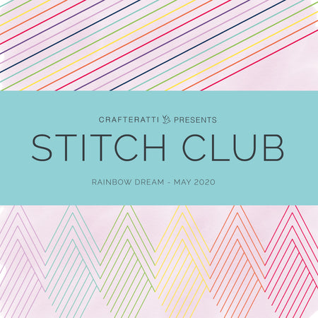 STITCH CLUB BOX - Rainbow Dream