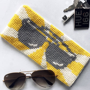 Ray Ray Glasses Case Tapestry Cross Stitch Kit