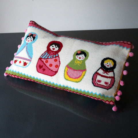 Russian Doll Cross Stitch Kit