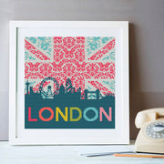 London Skyline Cross Stitch Kit