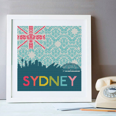 Sydney Skyline Cross Stitch Kit