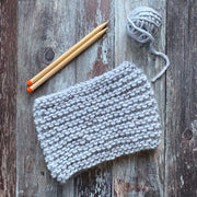 Ripple Beginner Snood Merino DIY Knitting Kit
