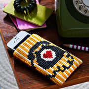 Supersize Stitches Retro Phone Cross Stitch Kit