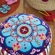 Supersize Stitches Groovy Pouffe Cross Stitch Kit
