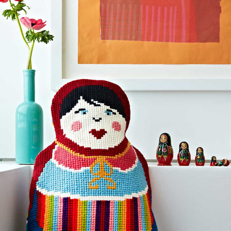 Russian Doll Tapestry Cross Stitch Kit