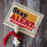 BLUE (stay) ALERT Covid Cross Stitch *LIMITED EDITION* Kit