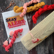 STAY ALERT Covid Cross Stitch *LIMITED EDITION* Kit