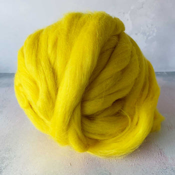 Super Duper Merino Wool Yarn 500g - Neon Yellow