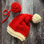 Supersize Santa Hat Merino DIY Knitting Kit
