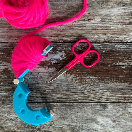 Neon Pink Embroidery Scissors