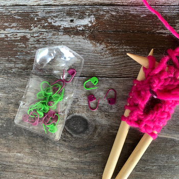 Set of 30 Premium Stitch Markers
