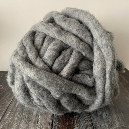Maxi Merino Wool Yarn 1kg + Natural Grey **RECYCLED SAMPLE