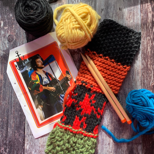 Harry Styles JW Anderson Chunky Merino Yarn Knitting Kit
