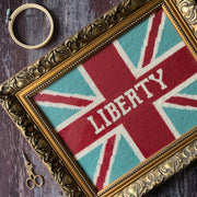 Union Jack Custom Name Cross Stitch Tapestry Kit