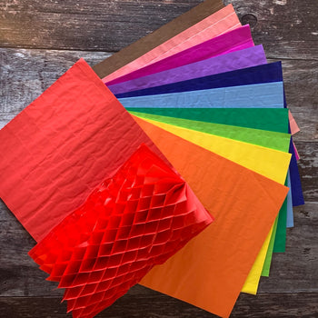 Paper Honeycomb Rainbow pack A4 *SALE*