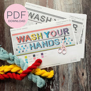 WASH YOUR HANDS PDF CHART **DOWNLOAD