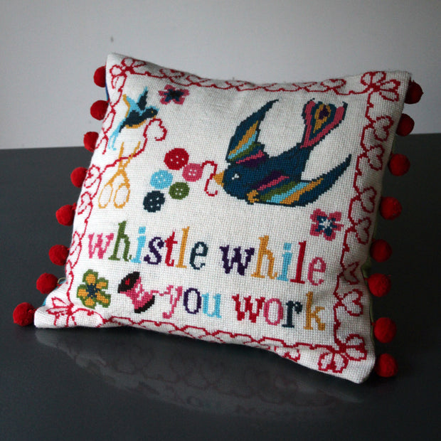 Whistle While You Work Cross Stitch Kit