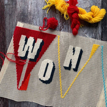 Pennant WONDERFUL BUNTING Tapestry Cross Stitch Kit