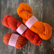 Yum Yum Yarn Merino Wool - Orange