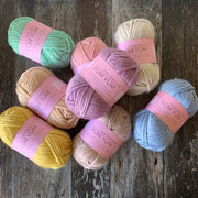 Yum Yum Merino Wool 6 Ball Bundle - RAINBOW PASTEL Mix