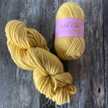 Yum Yum Yarn Merino Wool - Lemon Drop