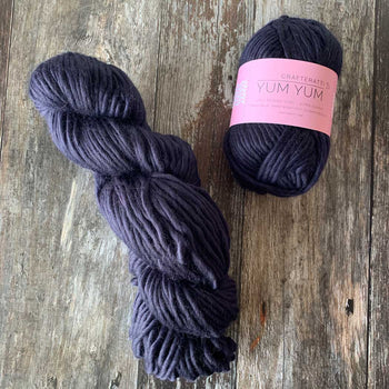 Yum Yum Yarn Merino Wool - Midnight