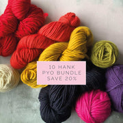 Yum Yum Merino Wool Yarn Bundle - PYO 10 HANKS