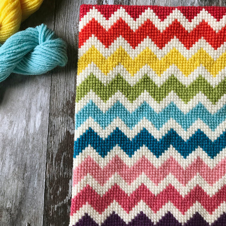Zig Zag Pattern Cross Stitch Kit