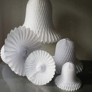 Paper Honeycomb Bell - WHITE *SALE*