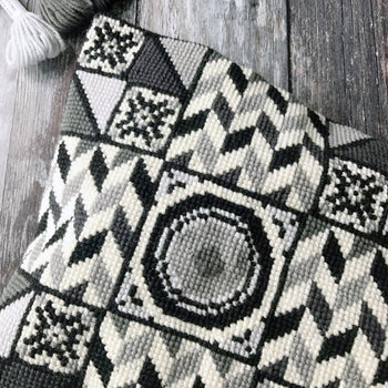 Blackwork Monochrome Cross Stitch Kit