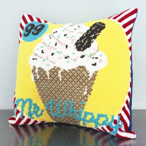 Mr Whippy Ice Cream Tapestry Cross Stitch Kit