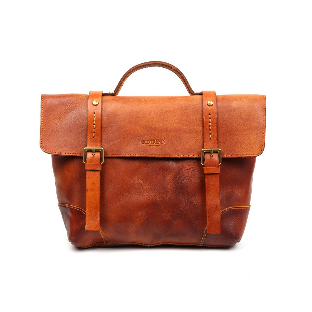 Brookside Leather Briefcase - Ceiba Imports
