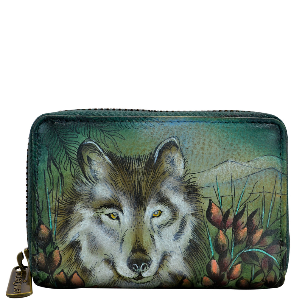 Western Wolf Card Holder - Ceiba Imports