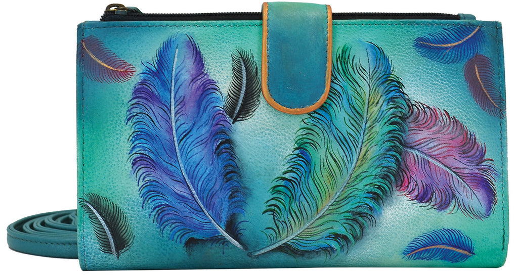 Feathers Smartphone Case & Wallet - Ceiba Imports