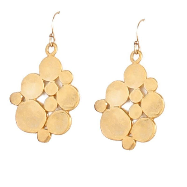 Flat Bubble Earrings - Ceiba Imports