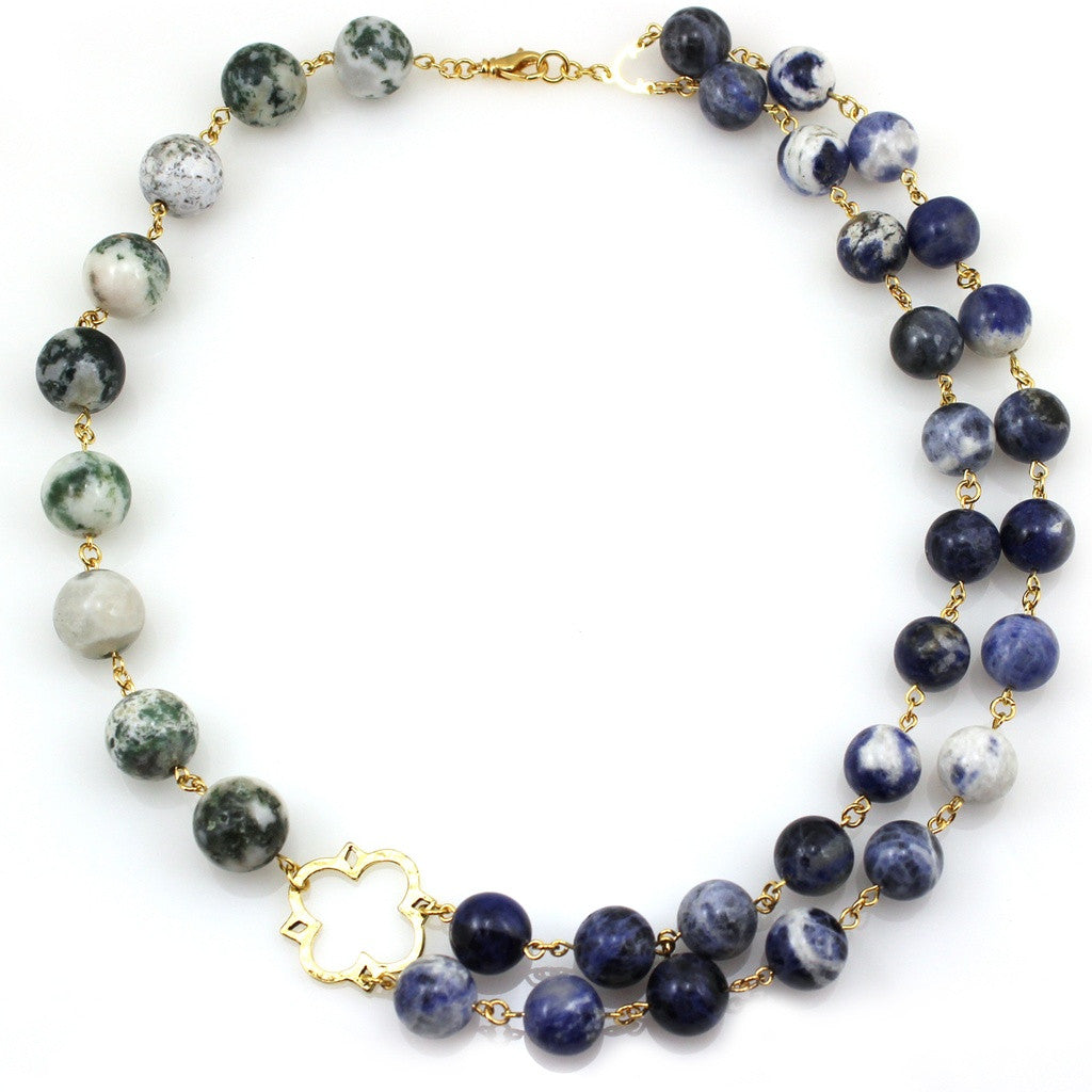 Odile Endless Memory Necklace - Ceiba Imports