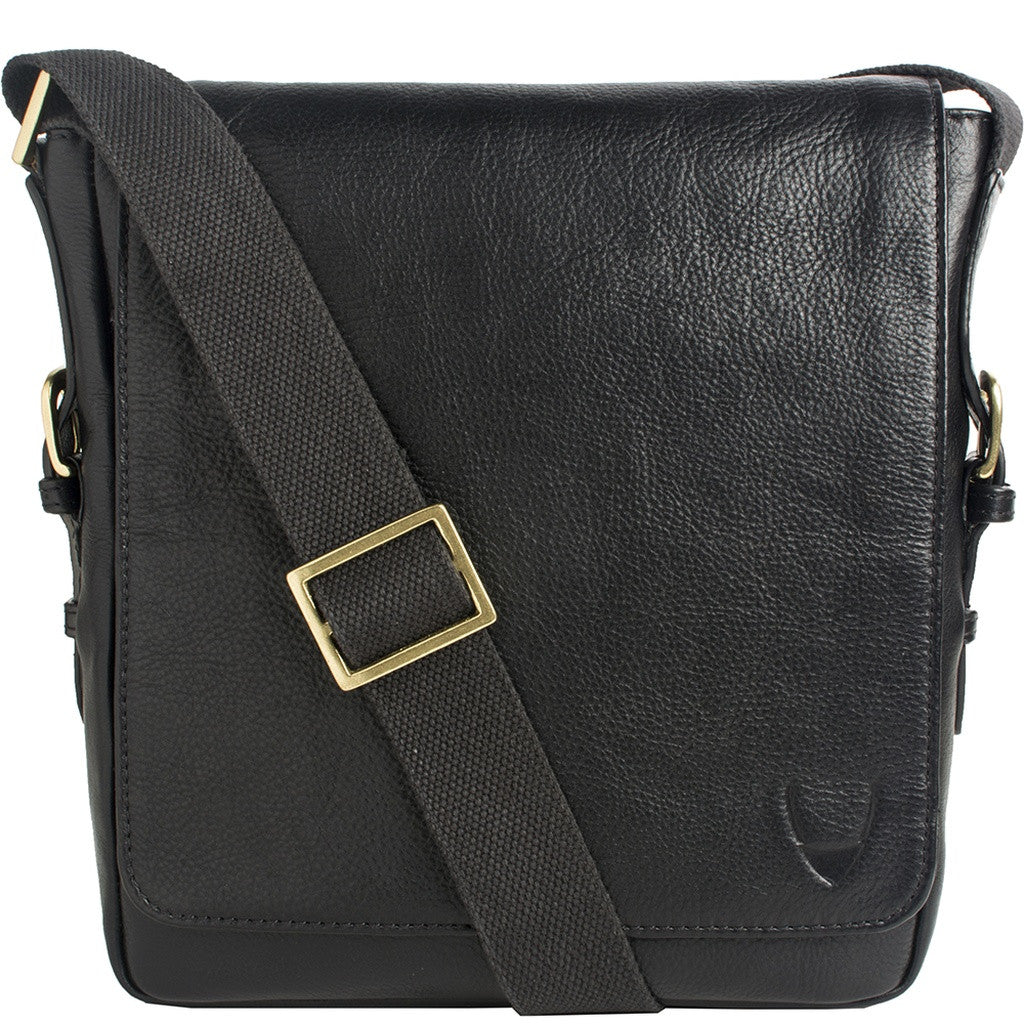 William Vertical Leather Messenger - Ceiba Imports
