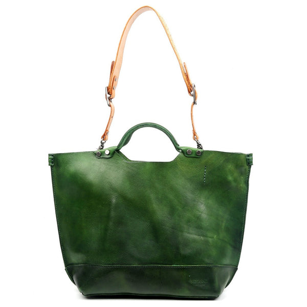 Gypsy Soul Leather Tote - Ceiba Imports