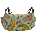 Feathers East West bag - Ceiba Imports