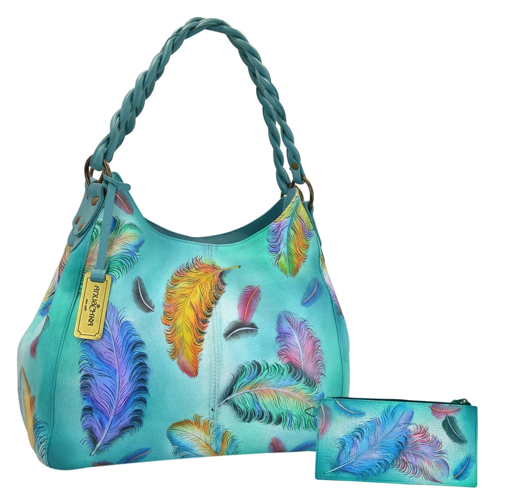 Floating Feathers Shopper - Ceiba Imports