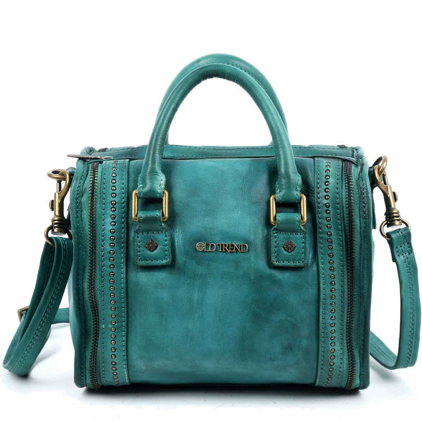 Mini Trunk Leather Crossbody - Ceiba Imports