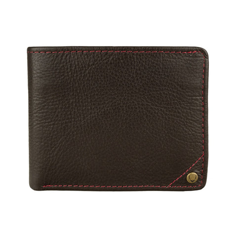 Angle Stitch Slim Bifold Wallet