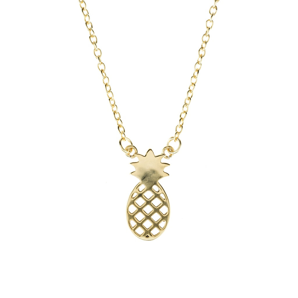 Pineapple Necklace - Ceiba Imports