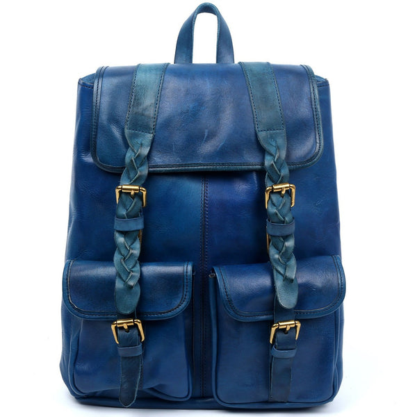 Amy Leather Backpack - Ceiba Imports