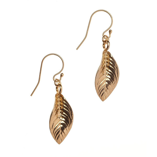 Leaf Earrings - Ceiba Imports