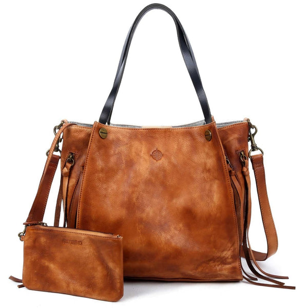 Daisy Leather Tote - Ceiba Imports