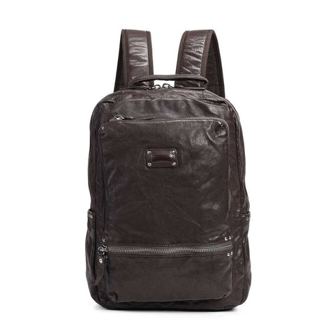 Stark Stud Leather Backpack